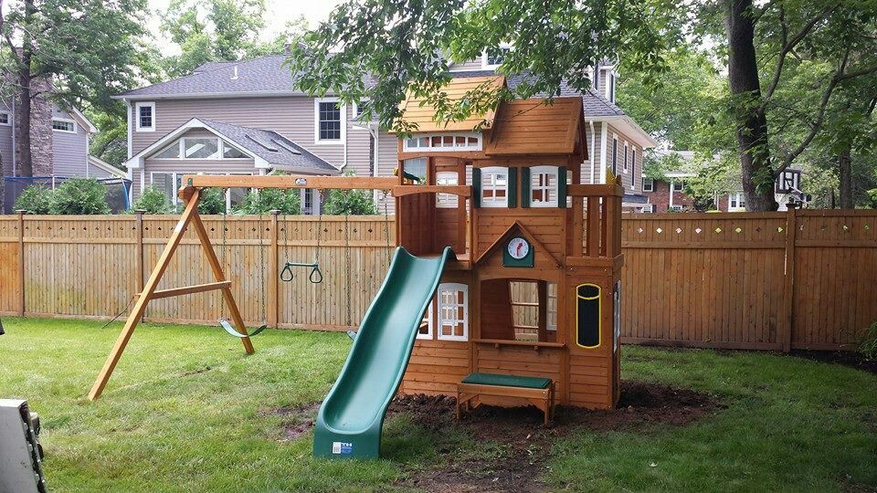 Cedar summit mount forest lodge playset from costco installed in cedar summit mount forest lodge playset from costco installed in westfield nj publicscrutiny Image collections