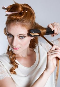 Locken Mit Dem Glätteisen In 3 Schritten Zur Traummähne Frisuren