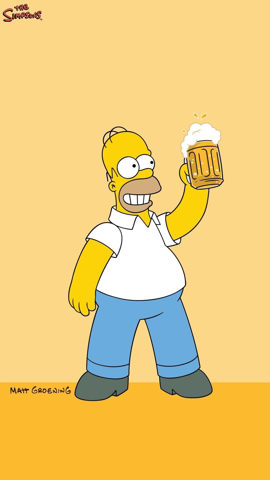 Homer Simpson Beer Quote 2001 Poster 25x35 Bananaroad Poster