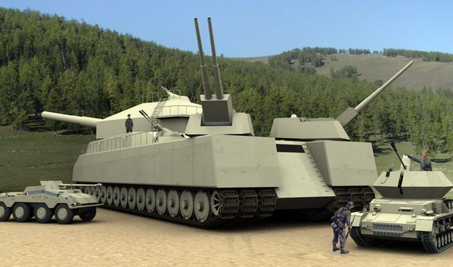 Landkreuzer P1000 Ratte is listed (or ranked) 1 on the list Secret WW2 Weapons You've Never Heard About Until Now
