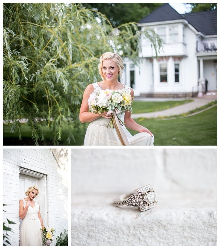 Chantilly Mansion Bridals Featuring Allure Style 9205, A