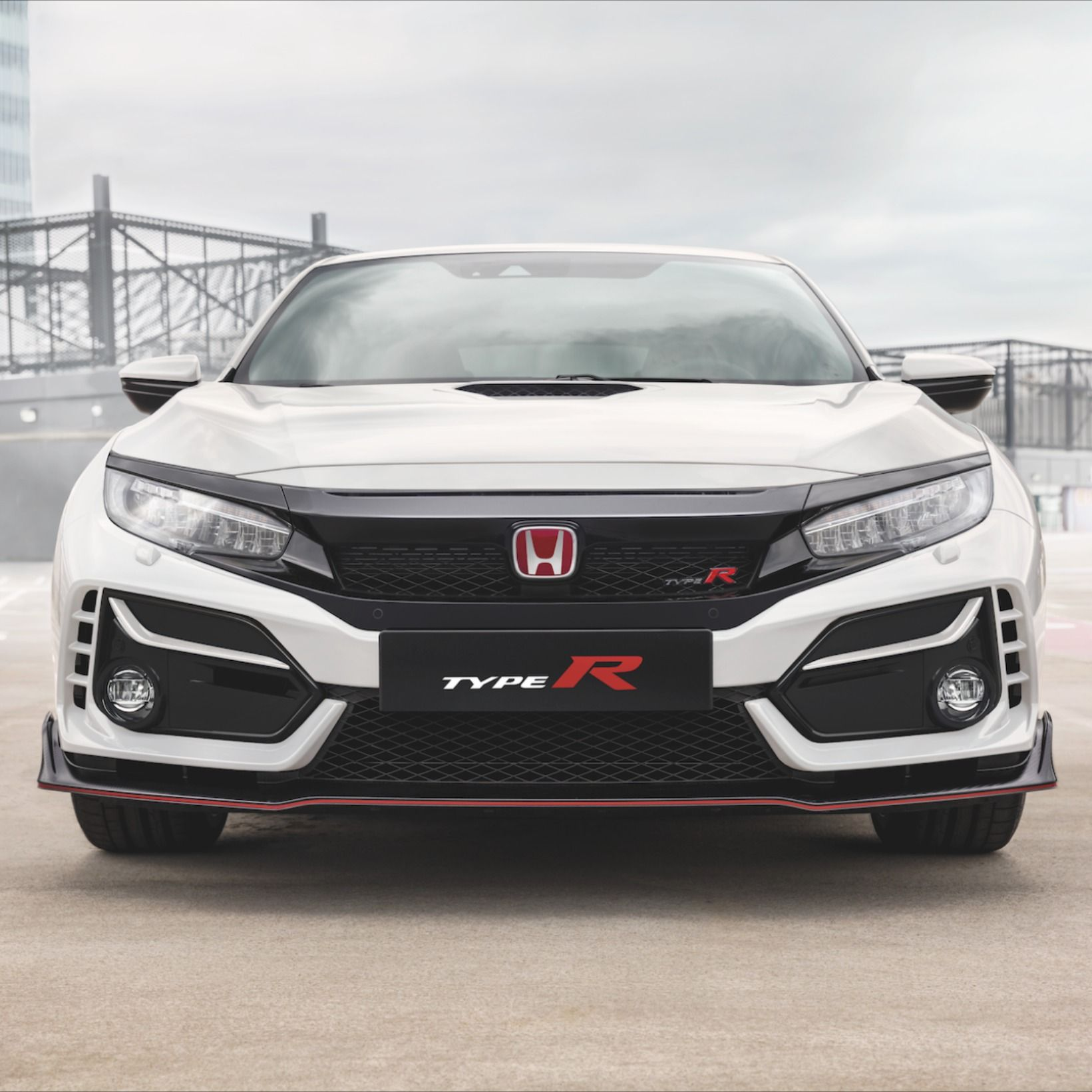 2018 Civic Type R White