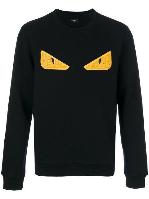 1e7f3b097 FENDI Monster Eyes sweatshirt. #fendi #cloth # | Fendi Men in 2019 ...