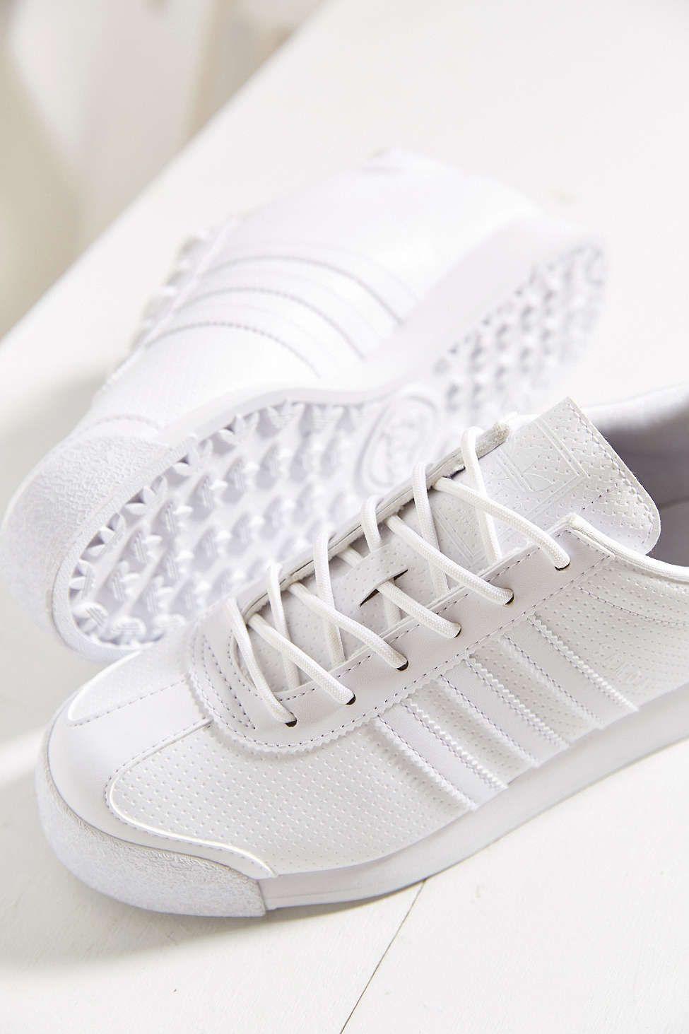 a02b694df3049 adidas Originials Samoa Perforated Mono Sneaker