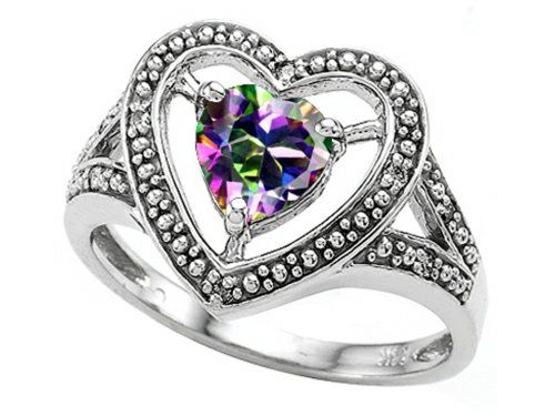 Tommaso Design Heart-Shape 6mm Mystic Rainbow Topaz and Diamond Ring Size 5 Tommaso design Studio http://www.amazon.com/dp/B002BYCEKW/ref=cm_sw_r_pi_dp_a.mXtb1FT6JNW72K