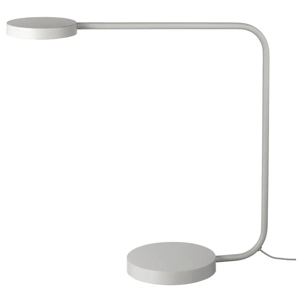 YPPERLIG LED table lamp light gray Led table lamp