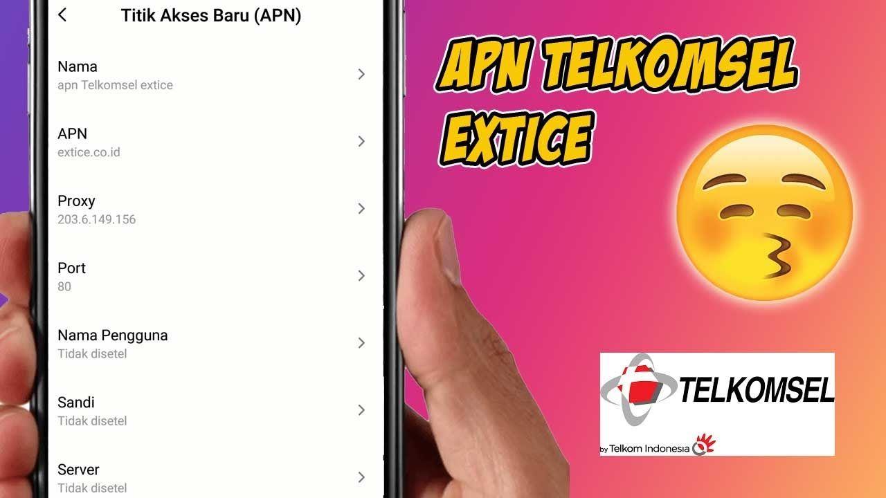 Setting Apn Telkomsel Extice Apn Telkomsel Paling Kenceng Persandian