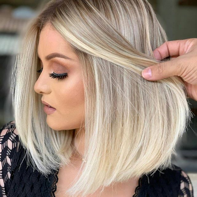 60 Bester Bob Frisuren Blond Bilder In 2020 Long Bob Hairstyles Long Bob Hairstyles Thin Hair Styles