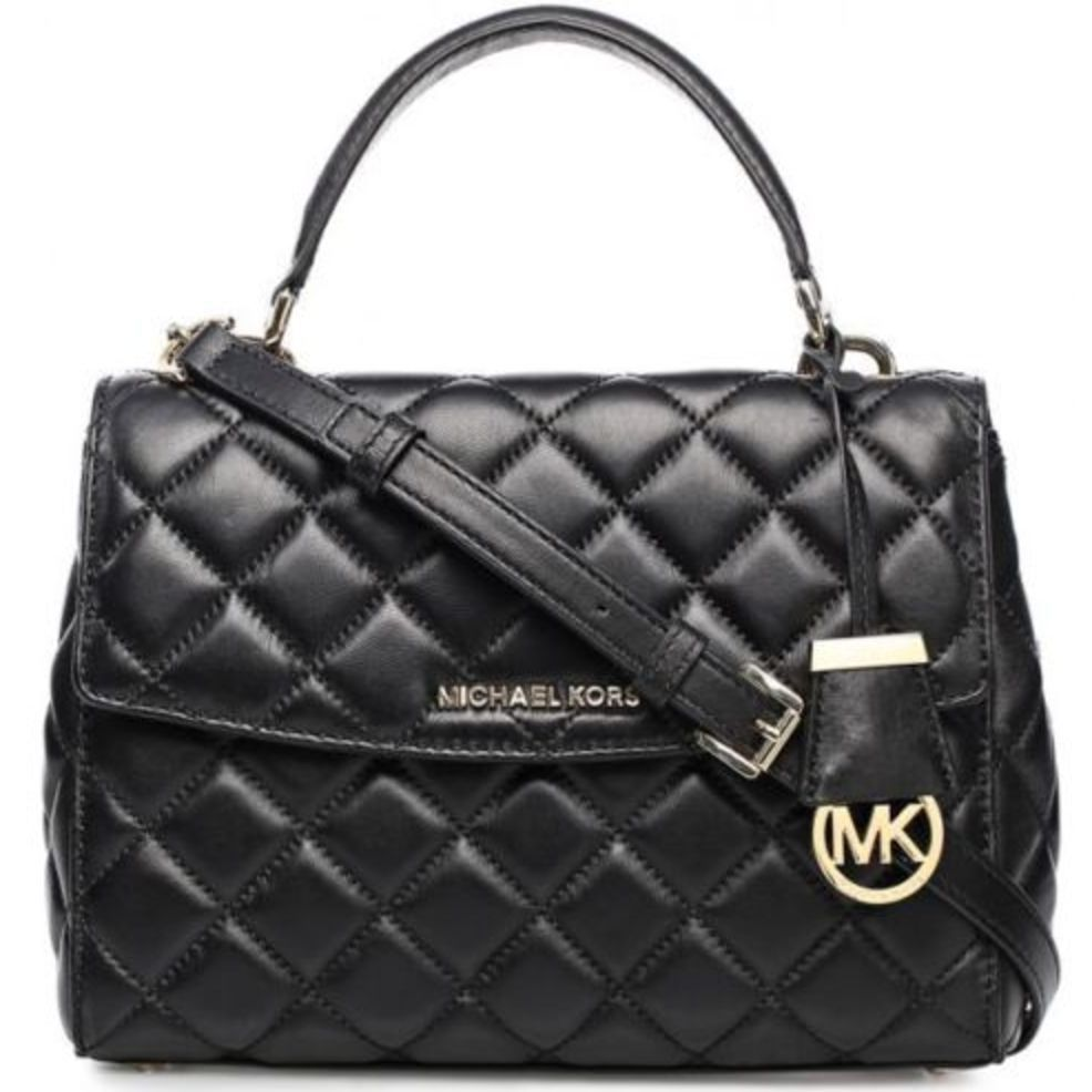 ed62b7e60dc8 Michael Kors Handbag NEW Ava Black Quilted X-Small Crossbody New   MichaelKors  CROSSBODY