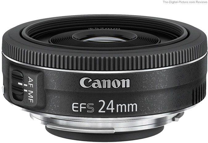 Canon Ef S 24mm F 2 8 Stm Lens Review Canon Lens Pancake Lens Camera Lenses Canon