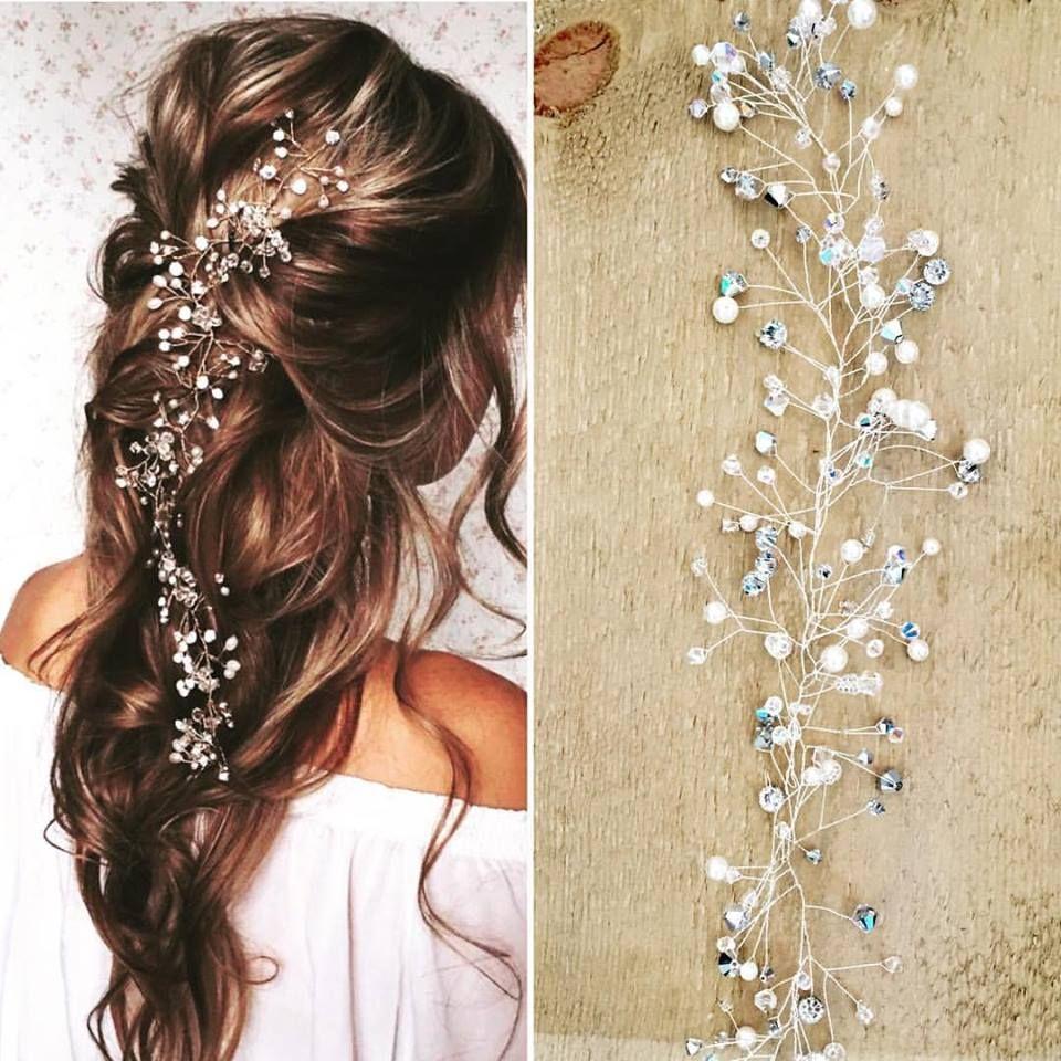Wedding Hairstyles Examples: Bespoke Hair Vines In 2020