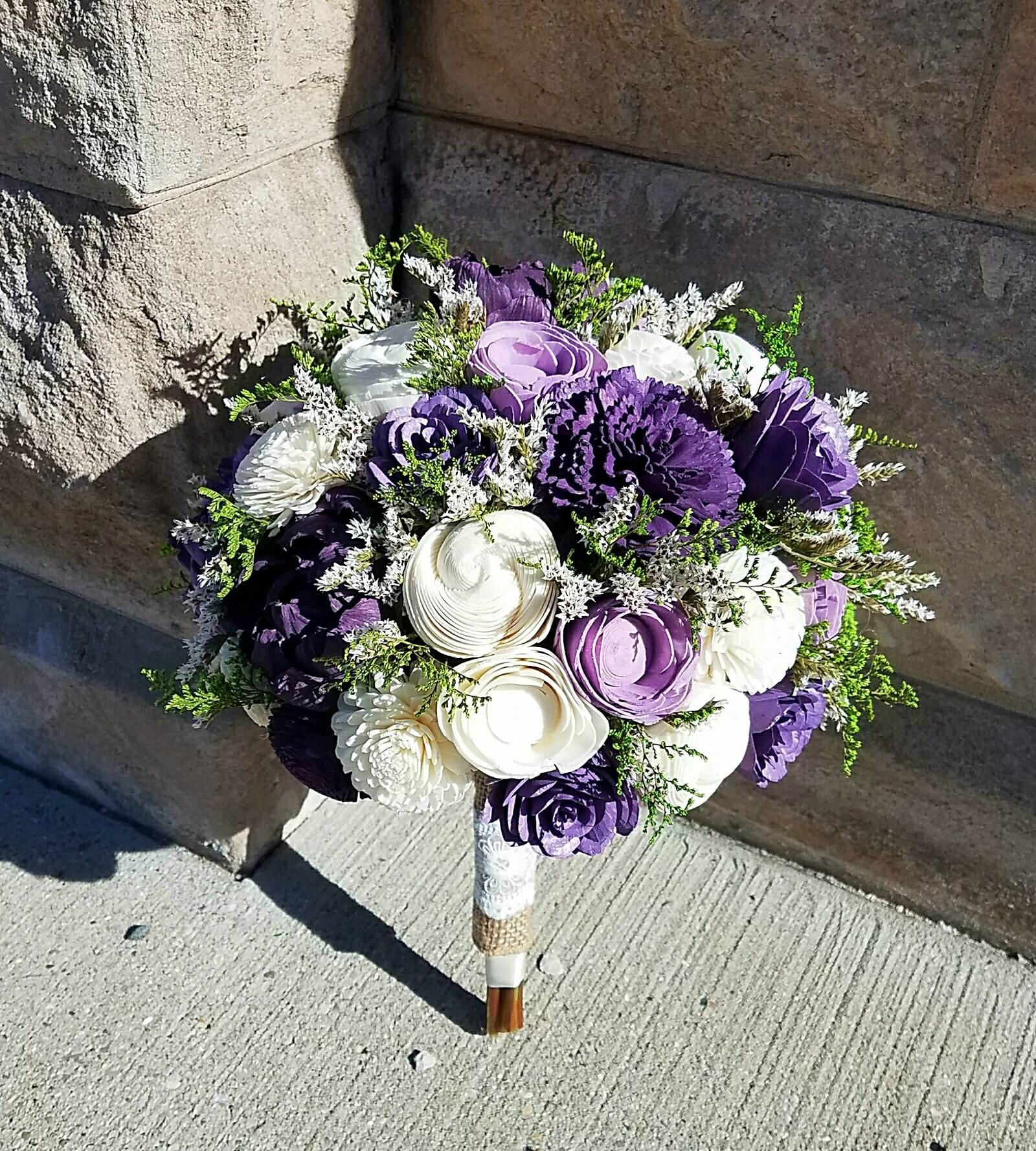 Perfect Purple Sola Flower Bouquet in 2020 (With images