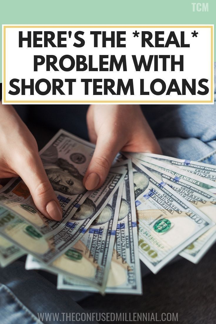 Here's The *Real* Problem With Short Term Loans Short