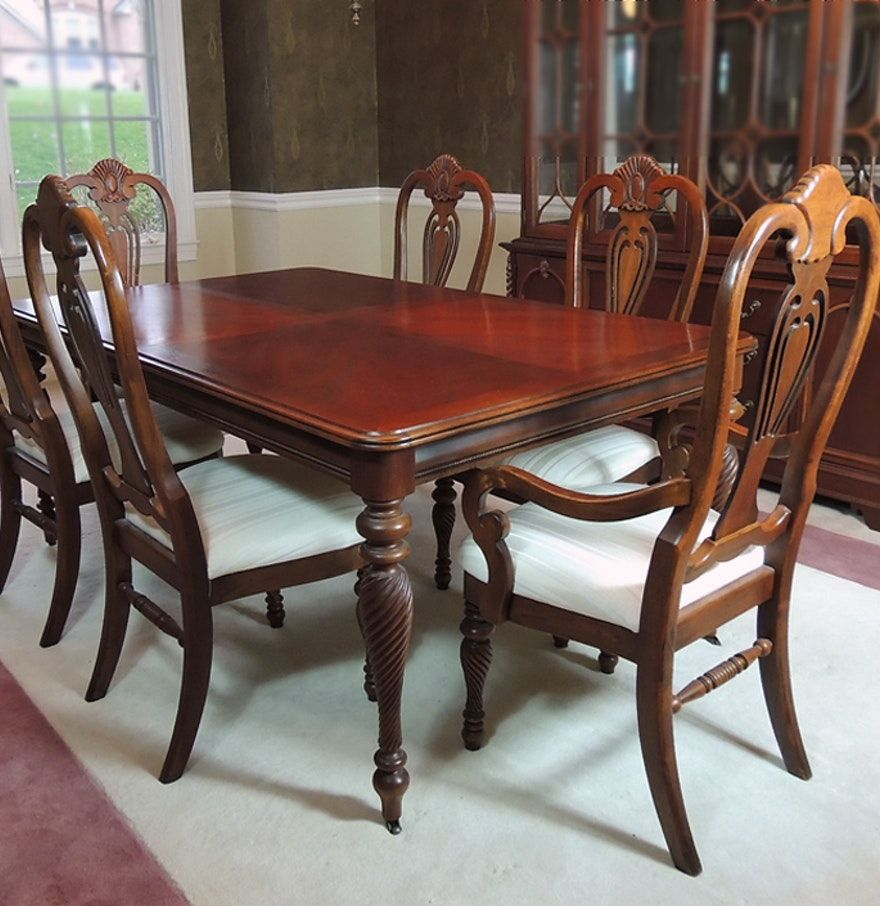 Lexington Furniture Dining Table Marble, Used Lexington Dining Room Furniture