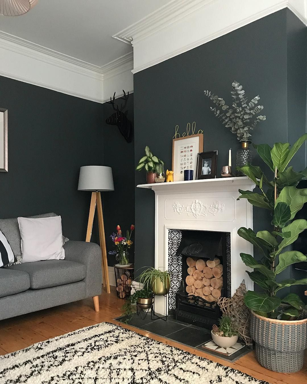 Wall Colour Inspiration: Pin Von Elissa Rezac Auf Interior Design In 2019