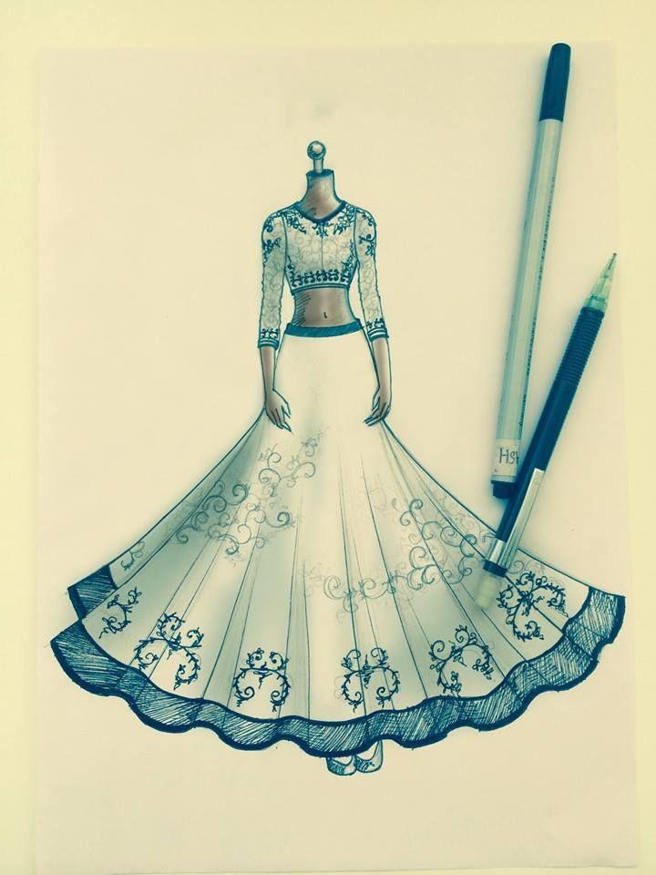 Tickettorunway Jadebymk India Lakmefashionweek Fashion Illustrations Techniques Dress Design Sketches Fashion Illustration Tutorial