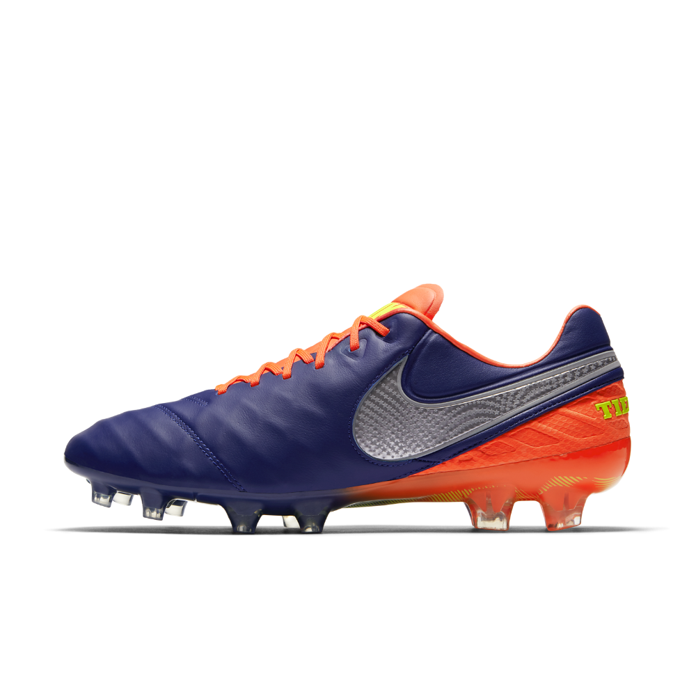 Nike Tiempo Legend VI Firm-Ground Soccer Cleats Size 11.5 (Blue ... 4f9748c76