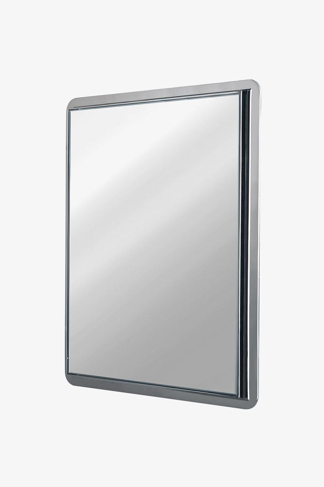Formwork Wall Mounted Stationary Mirror 24 X 32 1 4 X 1 1 2 Mirror Wall Mount Luxury Mirror