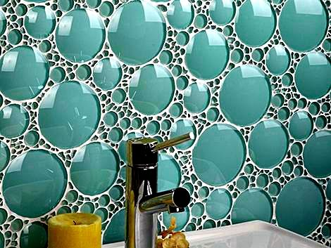 Bathroom Glass Bubble Tile Bathroom Glass Pinterest Glass - Bathroom Glass