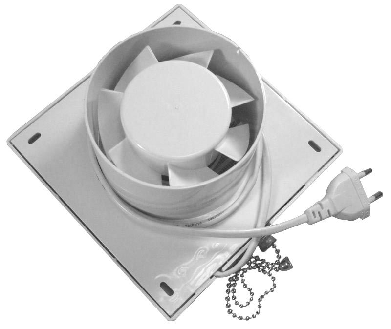 6 Inch Bathroom Exhaust Fan