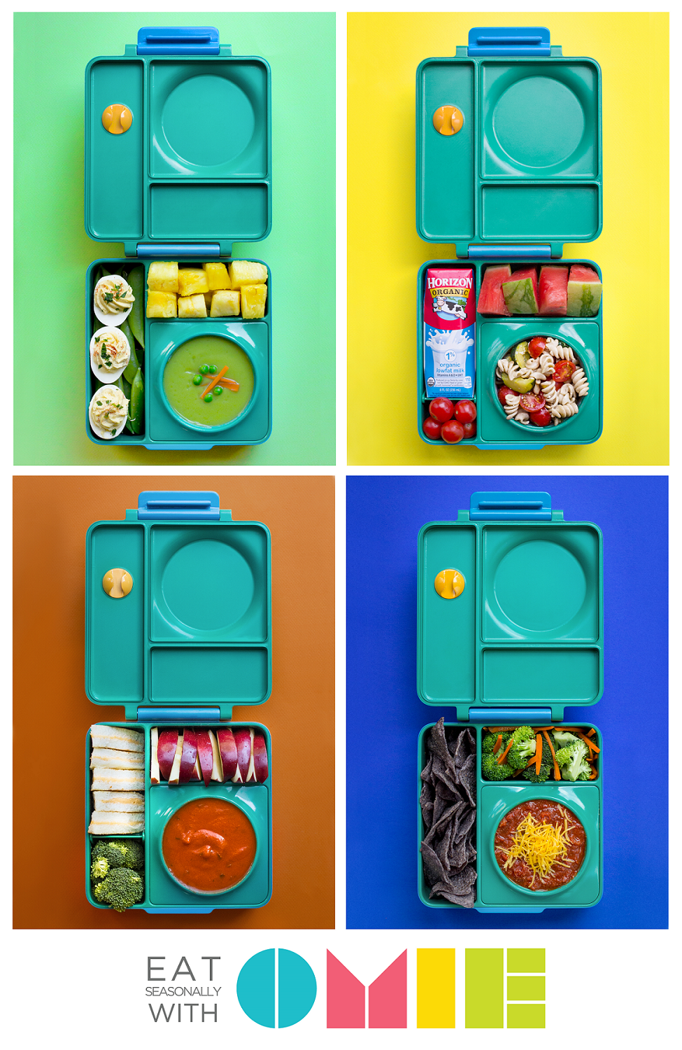 OmieBox stores hot and cold food, so you can pack healthier school ...
