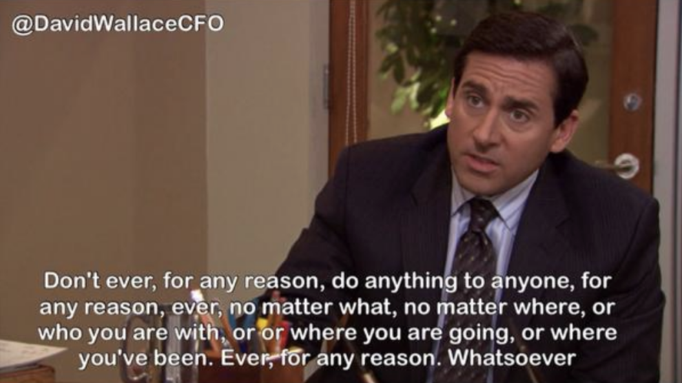 38 Times Michael Scott Had No Clue What He Was Talking About Office Quotes Michael Michael Scott Michael Scott Quotes