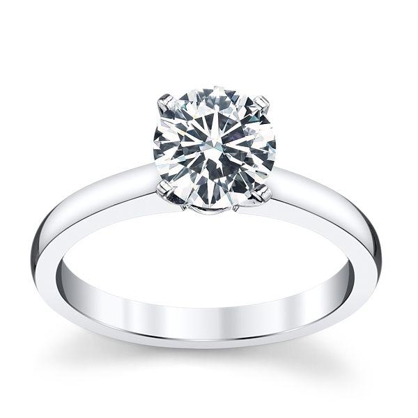 bague diamant 4 griffes