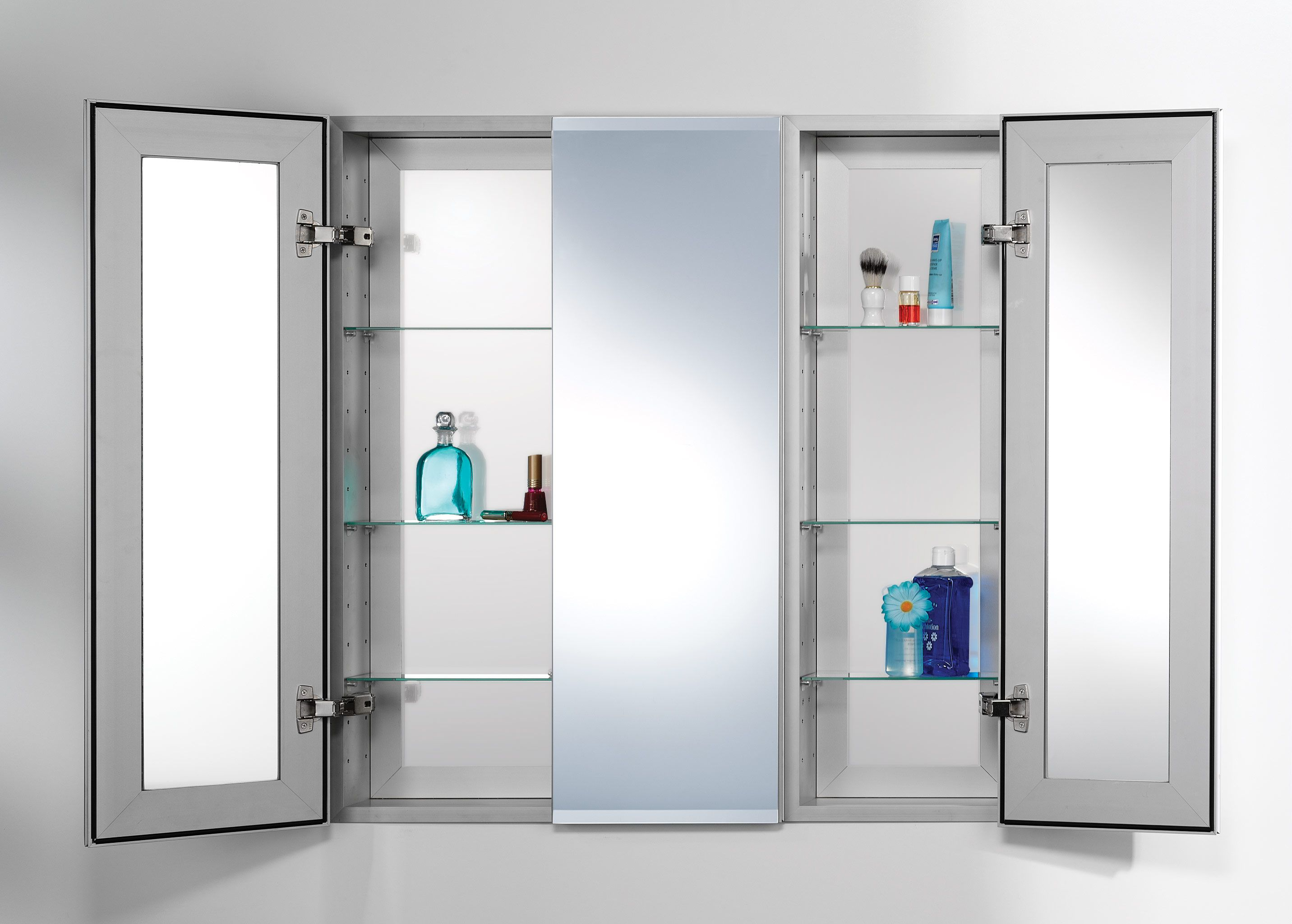 Bathroom Medicine Cabinets U2013 With Lights Recessed Mirrored