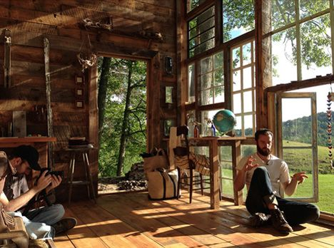 A Couple Leaves Their Jobs To Build A House Of Windows In The Mountains Of  West Virginia (Nick Olson U0026 Lilah Horwitz)