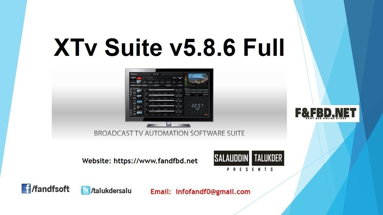 XTv Suite v5 8 6 Full | SOFTWARE | Software, Desktop screenshot, Desktop