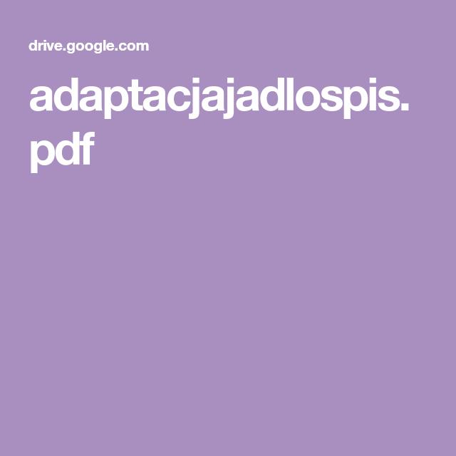 Adaptacjajadlospis Pdf Dieta Ketogeniczna W 2019 Dieta