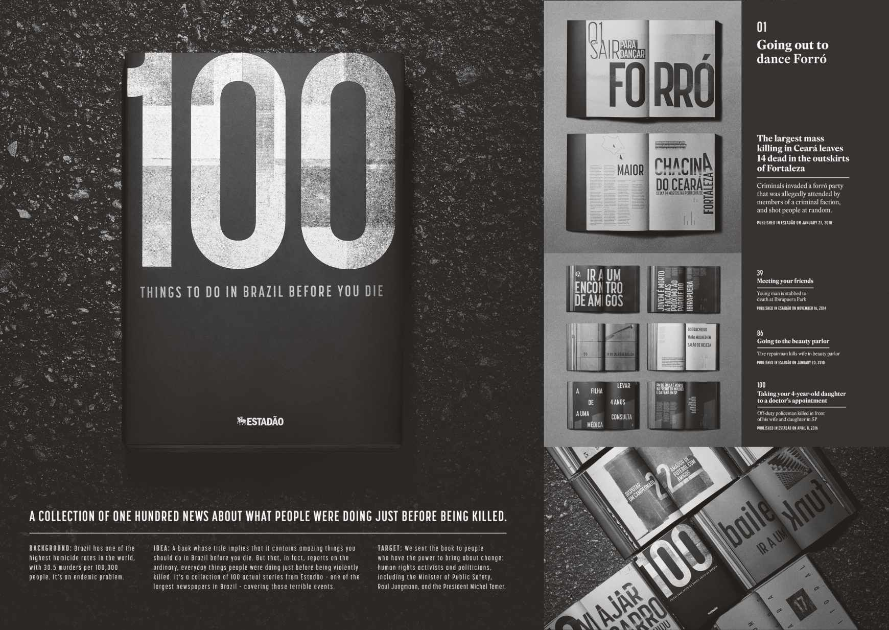 Estadao Print Ad 100 Things To Do In Brazil Before You Die