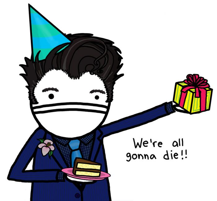 Unhappy birthday wishes from Morrissey – Morrissey Birthday Card
