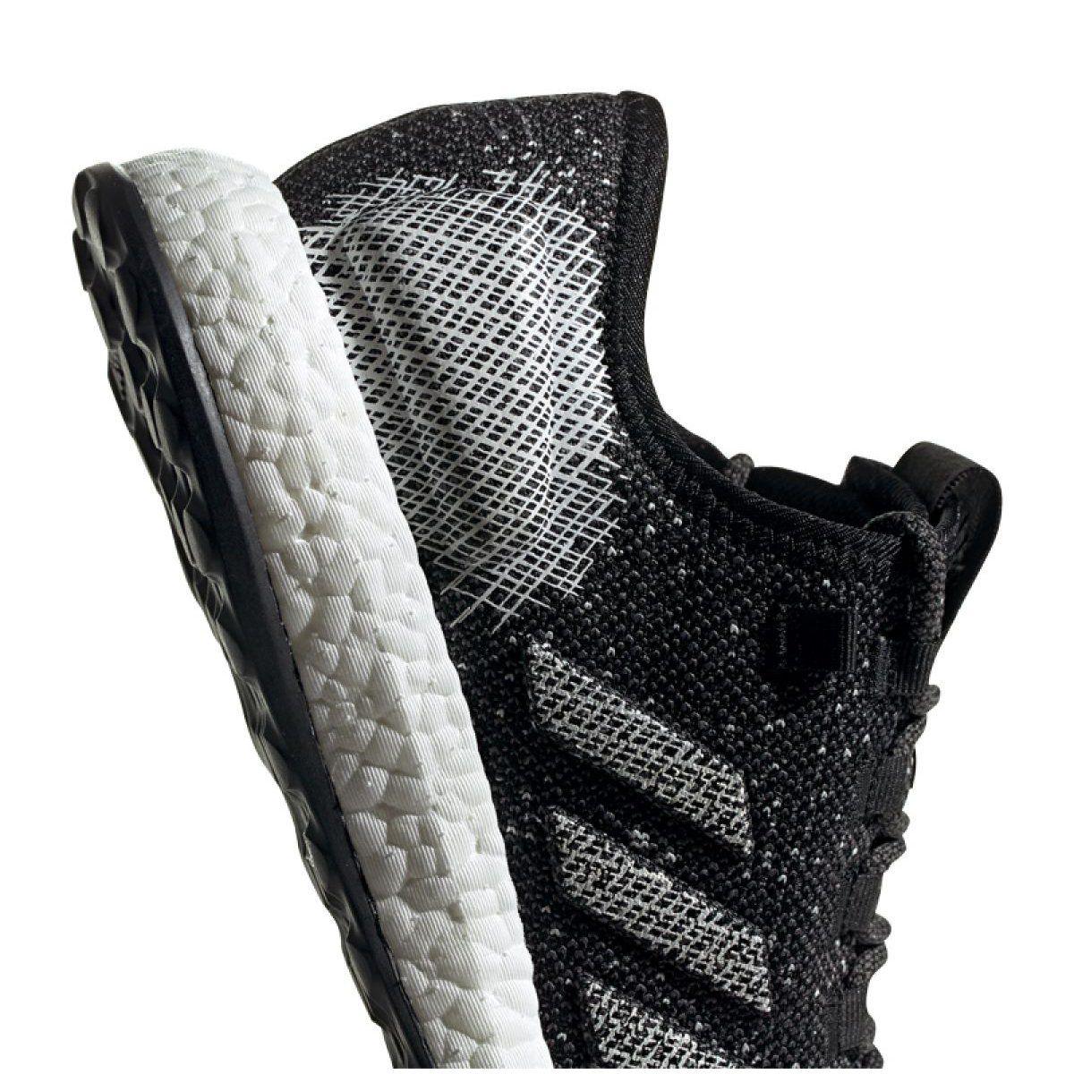 Buty Adidas Pureboost M B37775 Czarne Szare Adidas Pure Boost Pureboost Black Shoes