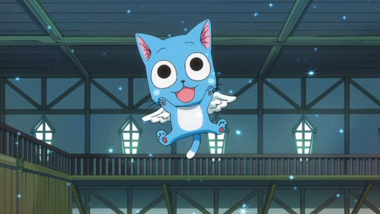 Happy The Cat from fairy tale | Happy (Fairy Tail) Episode 20