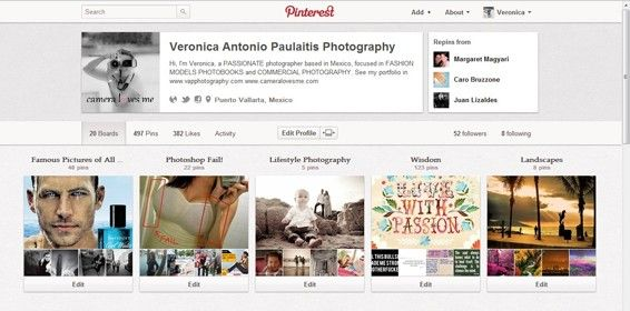 #Photographers, Copyrights and the #Pinterest revolution.
