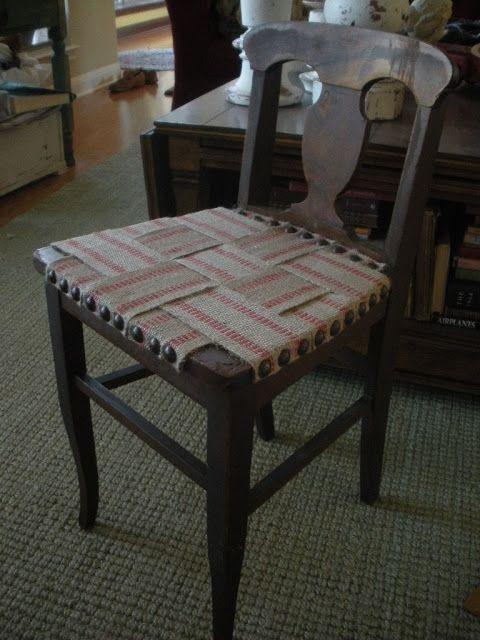 Using Webbing To Replace Broken Caning Diy Furniture
