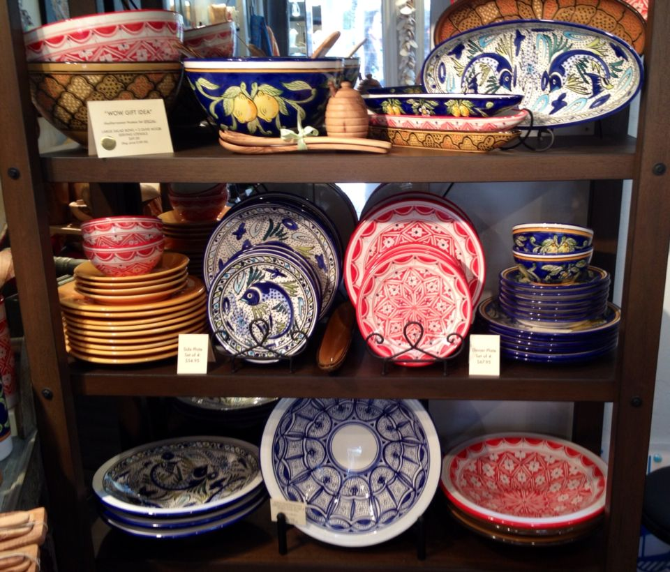 Party time with our selection of hand-painted Tunisian ceramic tableware and hostess sets ! & Party time with our selection of hand-painted Tunisian ceramic ...