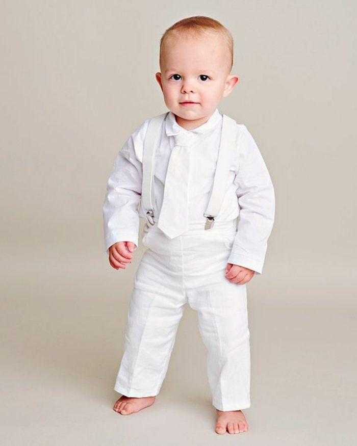 1001 conseils superbes sur quelle tenue pour un bapt me cravate blanche costume blanc et - Tenue pour un bapteme ...