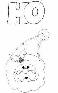 Baú da Web: Moldes para fazer enfeites de Natal