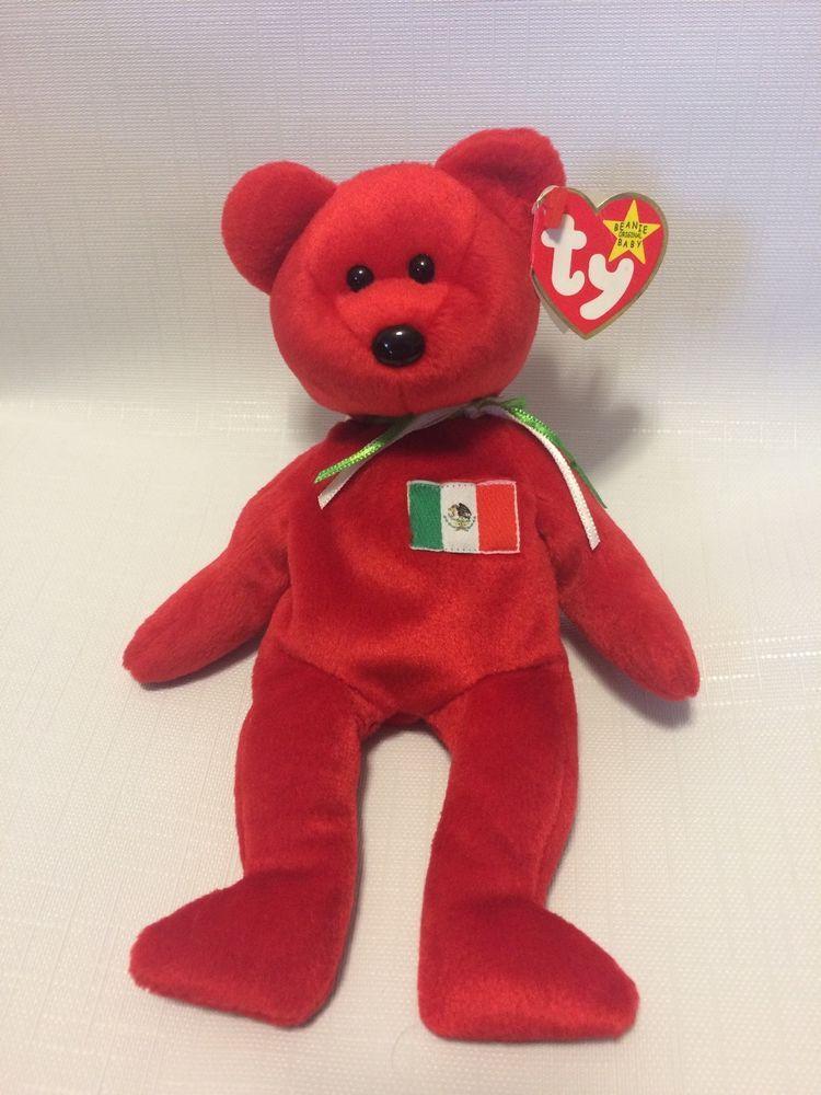 0da4ede8207 NWT RARE  Osito  Bear Beanie Baby w  Errors   Specialities  TY