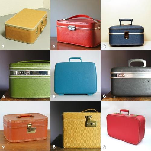 17 Best images about Train Cases on Pinterest | Vintage luggage ...