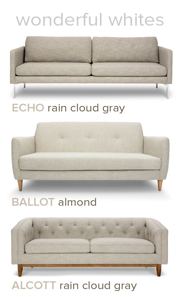 Add Bryght white to your home.  Living room sofa design, Modern