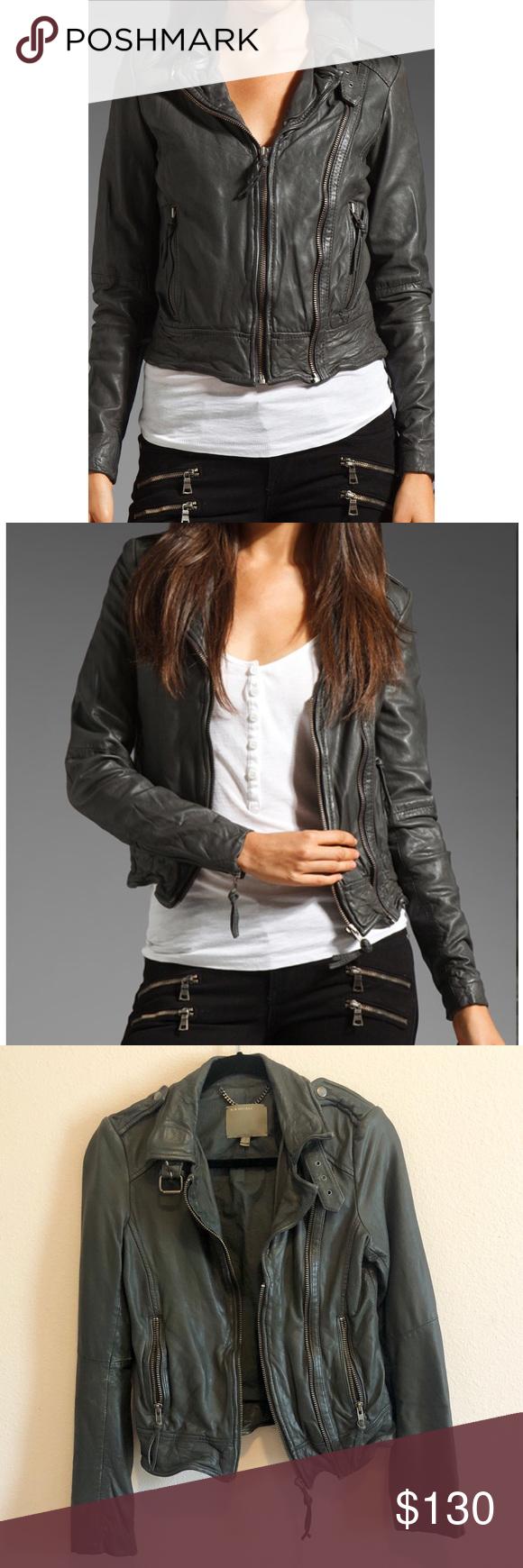 Muubaa Leather Jacket Muubaa Leather Jacket Jackets Leather Jacket [ 1740 x 580 Pixel ]