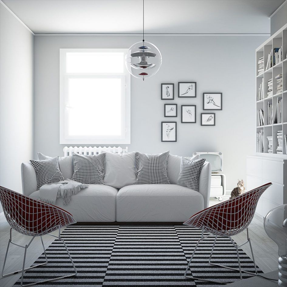 Modern Furniture Decorating Coffee Table Leather Couch On White Areas Rugs Living Room Scandinavian Interior Design Family Room Scandinavian Interior Design