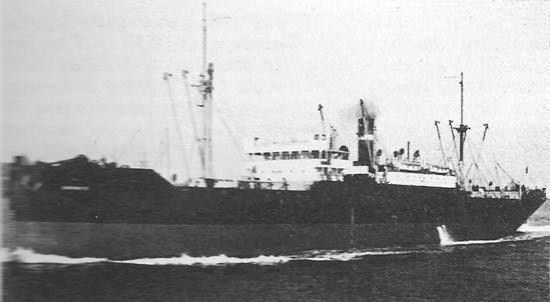 At 07.40 hours on 7 July 1942, U-255 fired a spread of two torpedoes at two freighters from the convoy PQ-17 which had been dispersed on Admiralty orders in the Barents Sea on 4 July. The torpedoes missed due to the great distance of about 6000 meters, but another torpedo fired at 09.27 hours hit the Alcoa Ranger (Master Vernon Lancelot Jubb). The torpedo struck on the starboard side at the #2 hold, opening a large hole and causing the vessel to list heavily to starboard.