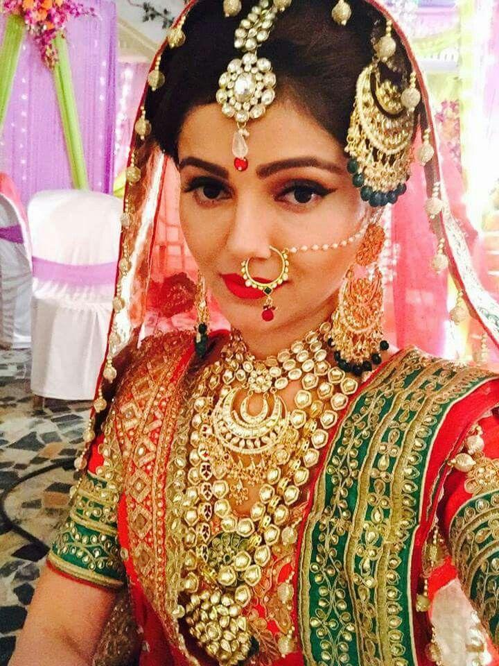 Rubina as Soumya in Shakti   jewellery   Indian bridal