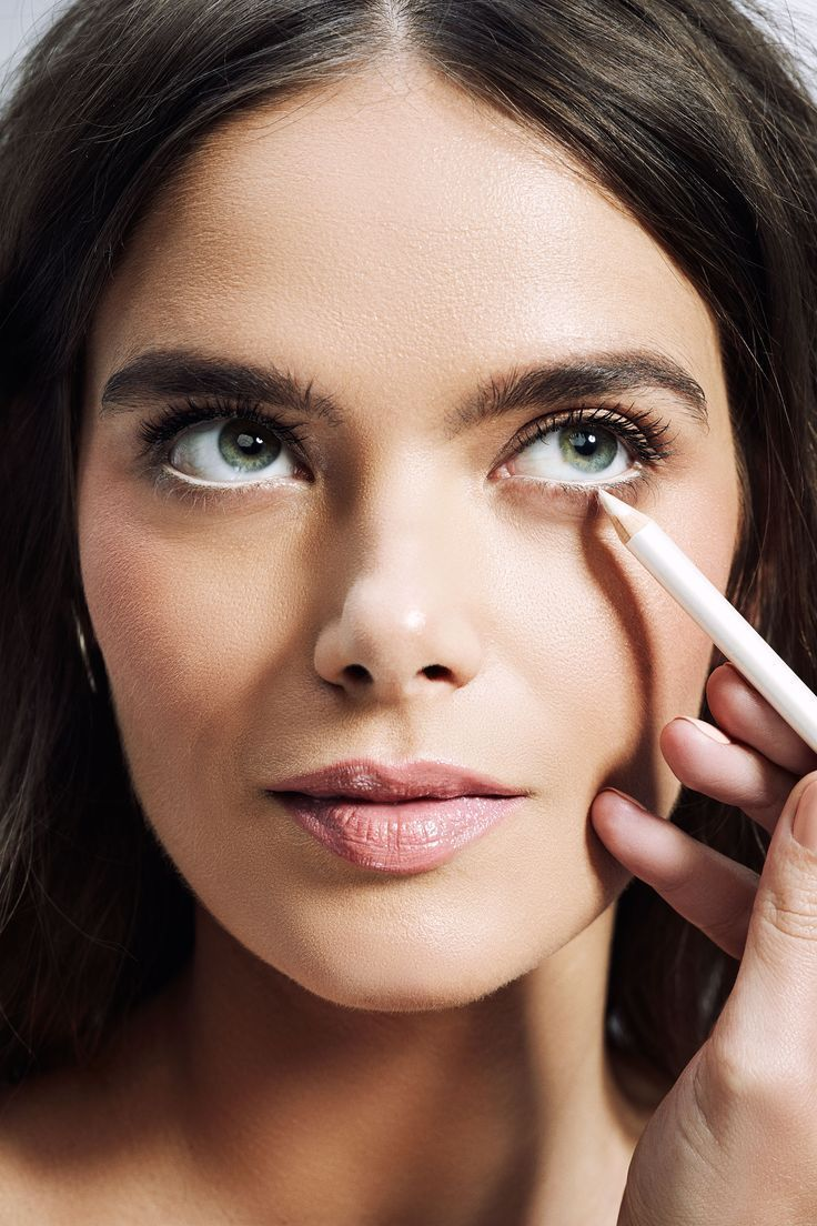 Eyeliner To Make Eyes Look Bigger in 2020 White eyeliner