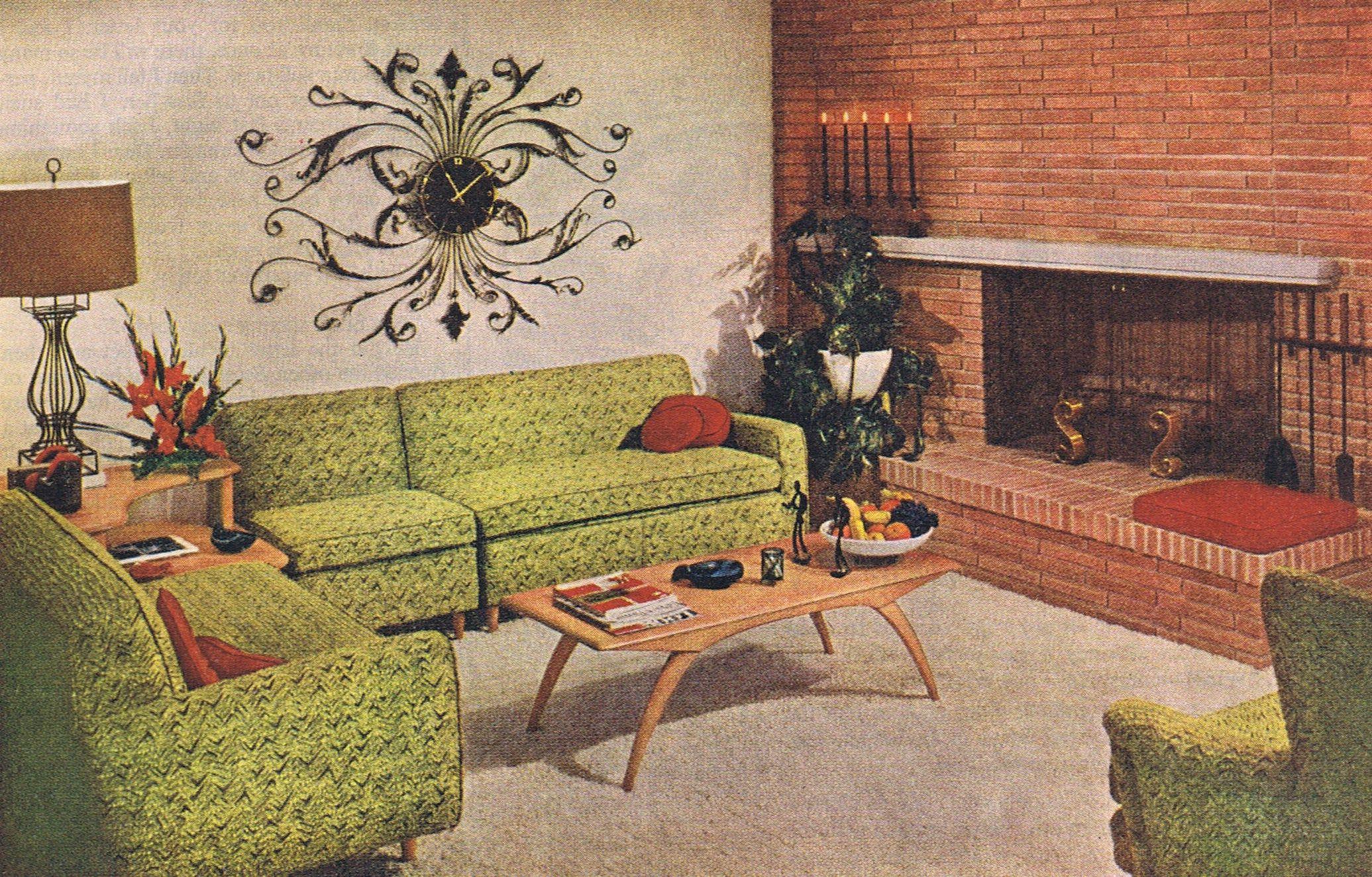 Best Mcm Living Room 1955 Mid Century Living Room Mid 400 x 300