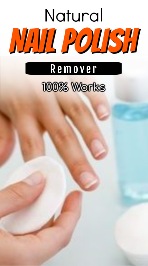 Natural Nail Polish Remover Best Diys Good For Your Nails